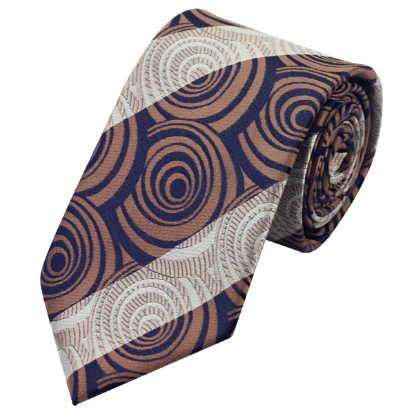 Tie Sets UK DSTS-71187 Brown Paisley Tie Handkerchief Cufflinks Sets Mens 100-Silk Ties for men Fashion and Formal (1)