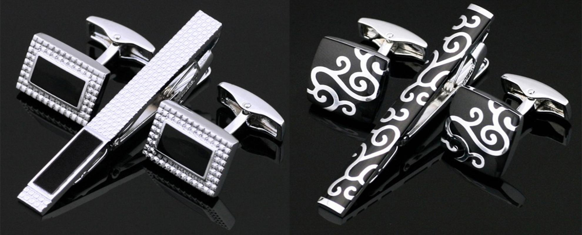 Tie Clip Cufflinks