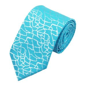 Dapper Selection Tie hanky cufflink sets DSTS-71038-Cyan-Blue-Tie-Hanky-Cufflinks-Sets-Men-s-100-Silk-Ties-for-men-Wedding-Groom-church-Formal(1)